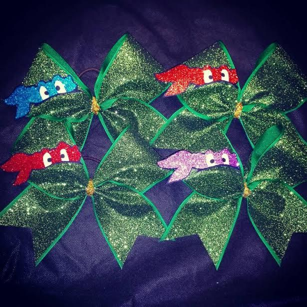 ninja turtles bow! bestfriends! can be bought here…