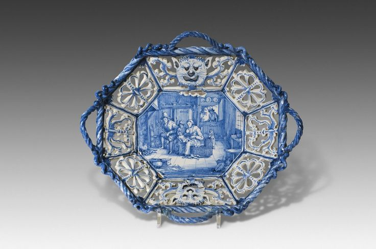 Dutch delftware Luiermand