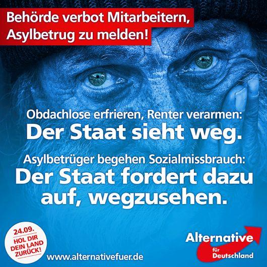 Und damit hat sie recht. So rechtsextrem einige hochrangige Mitglieder der AfD auch sein mögen, sie sind das kleinere Übel als Merkel, Schulz, Gauck & Co.