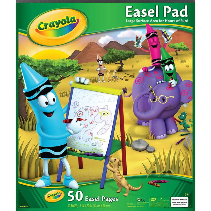 """Crayola Easel Pad 