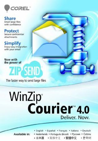 Zip, encrypt, and safely deliver large files without skipping a beat! Simply write an email, attach as many files as you need, and click Send—Courier will take care of the rest.    Price: $29.99