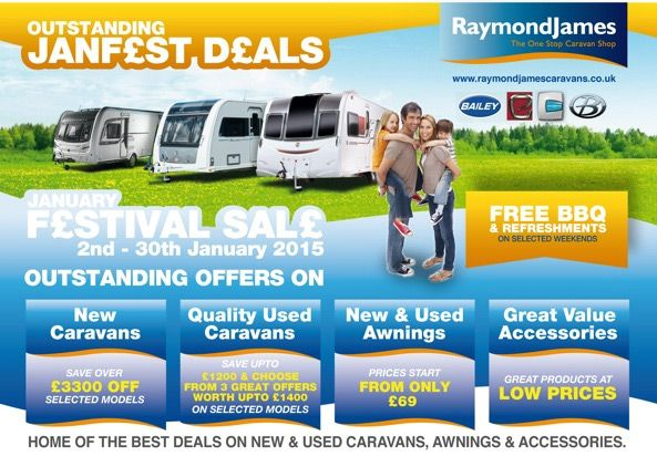 Is Having Offers On New Caravans Your Dream Motor Home Awaits You In UK