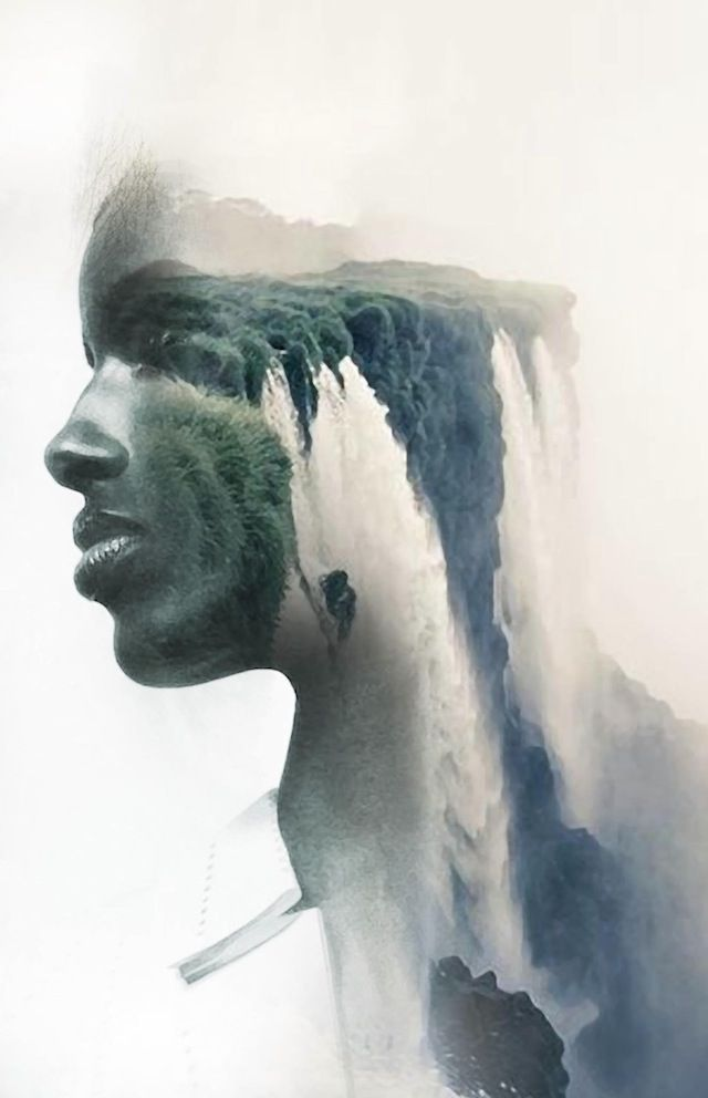 Dreamy Portraits Fuse Human Faces with Nature and Architecture - My Modern Met
