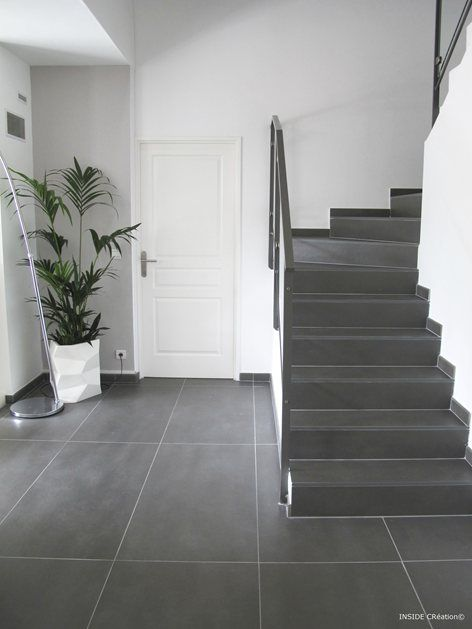 1000 ideas about escalier beton cir on pinterest - Carrelage escalier interieur ...