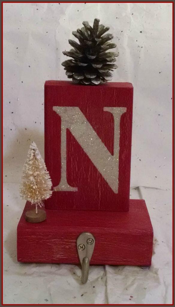 DIY Christmas Stocking Holders | FaveCrafts.com