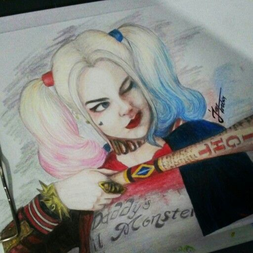 #harleyquinn #sketch #art