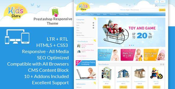 Kids Store - Prestashop Responsive Theme (PrestaShop)