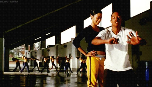 #zoesaldana #nickcannon #bootypop #drumline #gif #movies #tv #film #funny #lmfao