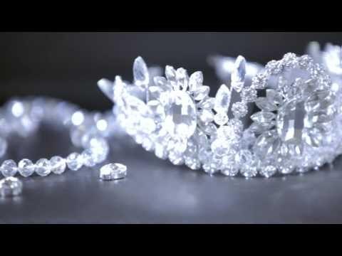 МК. Корона. Серьги своими руками. Для невесты. - YouTube