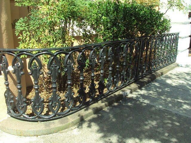 Pin By Sarah Kubel On Home Fencing Gates Wrought Iron Styles Like In 2020 Iron Fence Panels Wrought Iron Fence Panels Wrought Iron Handrail