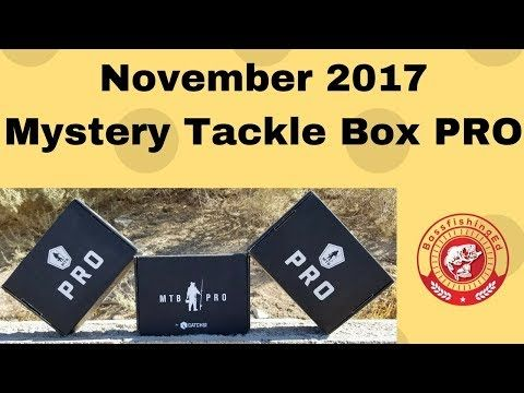 Mystery Tackle Box Pro Bass November 2017 - (More info on: https://1-W-W.COM/fishing/mystery-tackle-box-pro-bass-november-2017/)