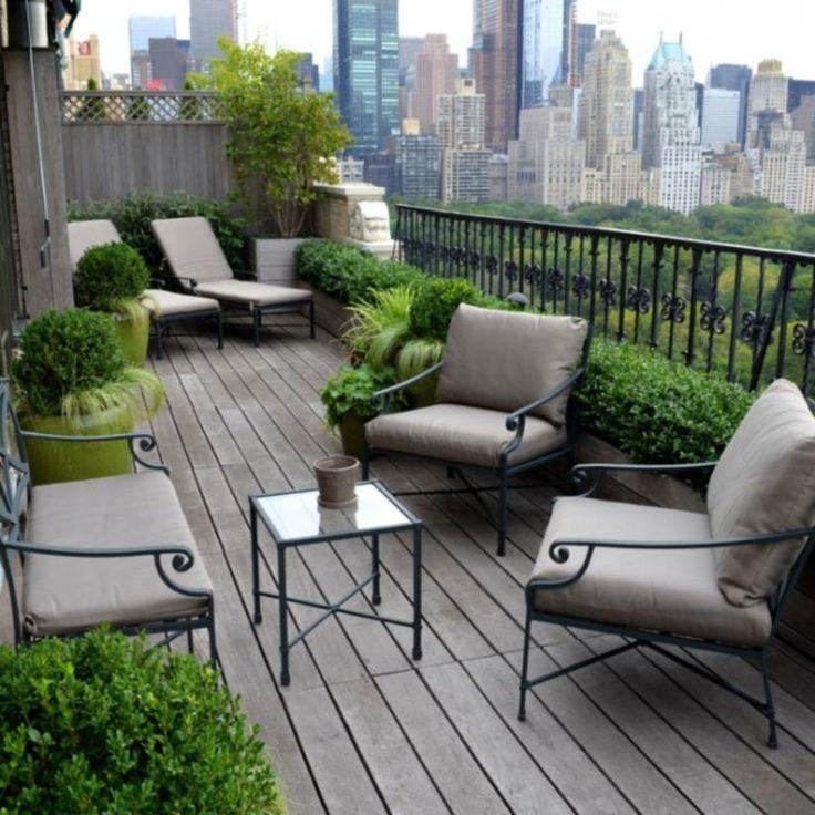 44 rooftop garden ideas to make your world better for Ideas para terrazas exteriores