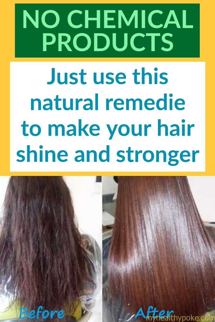 How to make your hair shine in natural way (With images)  Hair