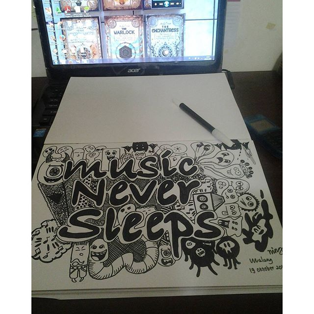 Ma first doodle art