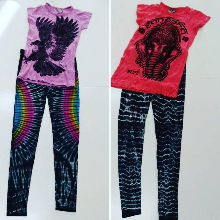どんな組み合わせで着ようかな? 考えるのも楽しいです�� ・ ��Tシャツ 綿100% Ssize/Msize 2,500円(税込み) ・ ��ヨギンス ポリエステル、ポリウレタン Msize 4,000円(税込み) ・ お問い合わせ、ご注文は、DMかメッセージからどうぞ。  #jasmine #ヨガウエア #レギンス #ヨギンス #カジュアルコーデ  #ラクマ #ヨガ #ピラティス #花柄 #スポーツウエア #トレーニング #エスニック #アジアンファッション #タイダイ柄 #tシャツ #ジョギング女子#綿 #コットン #プチプラコーデ #カジュアル http://misstagram.com/ipost/1551914605800941258/?code=BWJghyQgWbK