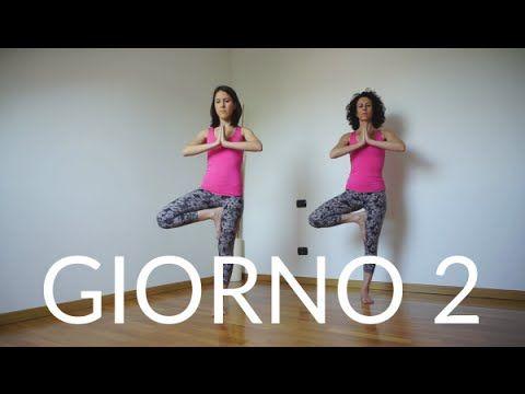 Giorno 2 - Albero (VRKSASANA)   Tutorial Yoga per principianti - YouTube