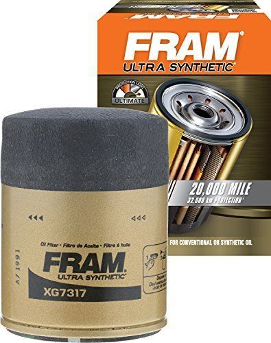 Engine Oil Filter FRAM XG7317 Ultra Synthetic Spin-On with Sure Grip New #Fram