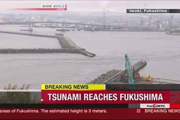Powerful Earthquake Spawns Tsunami And Evacuations In Japan