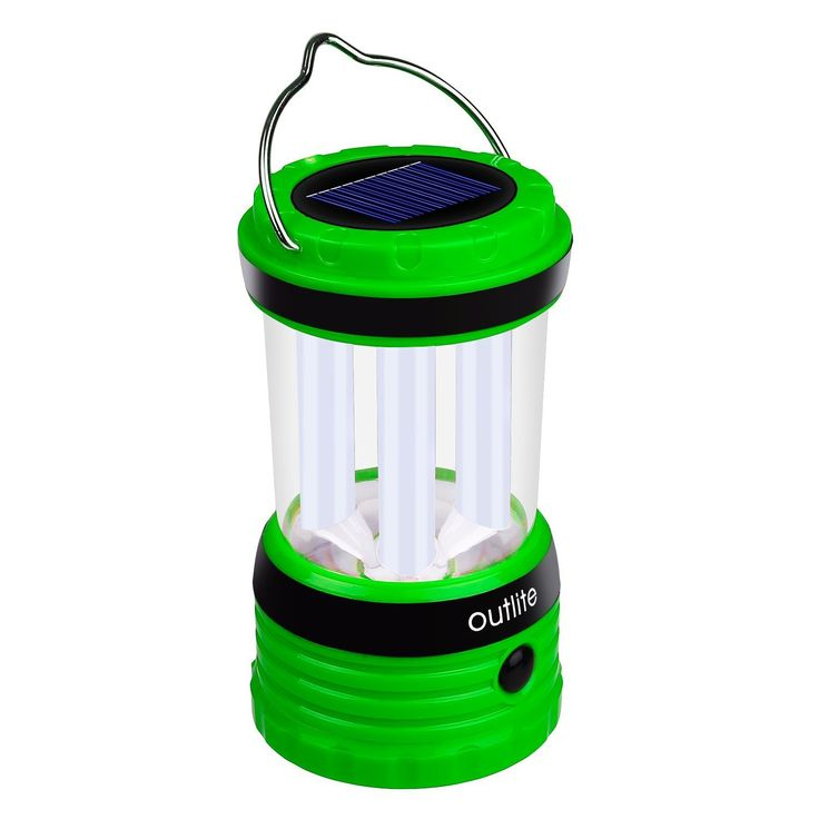 Outlite 240 Lumen Solar Rechargeable LED Camping Lantern Flashlight >>> Check out this great product.