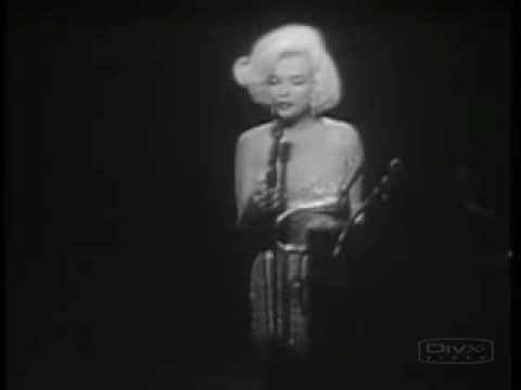 """Marilyn Monroe sang 'Happy Birthday' to John F. Kennedy on Saturday, May 19, 1962 at a celebration for his 45th birthday that was 10 days before. Sung in a sultry voice, Monroe sang the traditional """"Happy Birthday to You"""" lyrics, with """"Mr. President' inserted as Kennedy's name. The song and performance has been remembered because it was one of Monroe's last major public appearances and there were the rumors that Kennedy and Monroe had had an affair."""