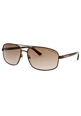 Fashion Sunglasses: Shinny Brown/Brown Gradient Emporio Armani. $79.99