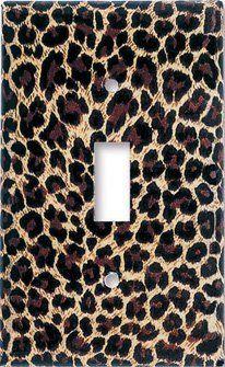 Amazon.com: Leopard Print Switch Plate - Single Toggle: Home Improvement 9.95