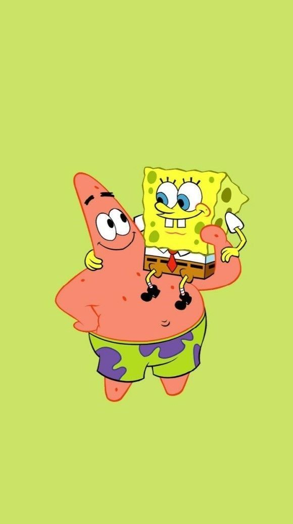 Sponge bob and Patrick are The greatest best friends ever