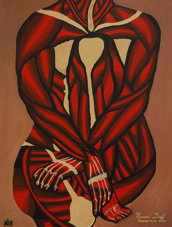 Painting: 7 of 8 Body Language Series