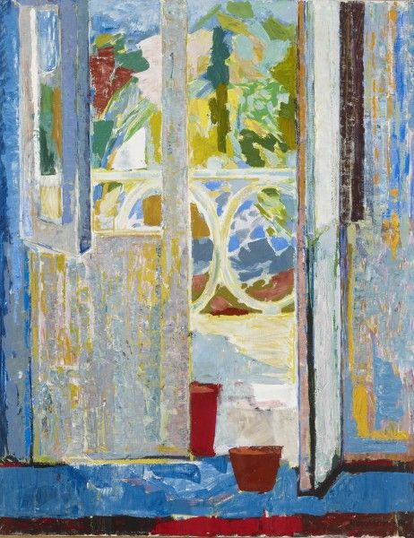 Tove Jansson: View to a balcony (1961). Ateneum Art Museum. Photo: Finnish National Gallery / Kirsi Halkola © Tove Jansson Estate