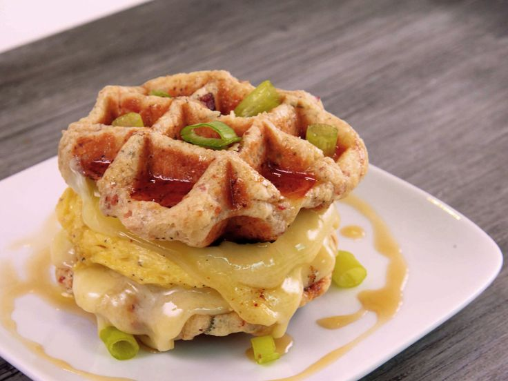 A New York for Two date: Wafel Sandwiches
