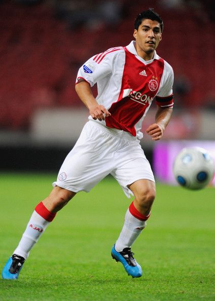 ~Uruguay International Luis Suarez on AJAX AFC wearing  Adidas F50i TUNIT ~