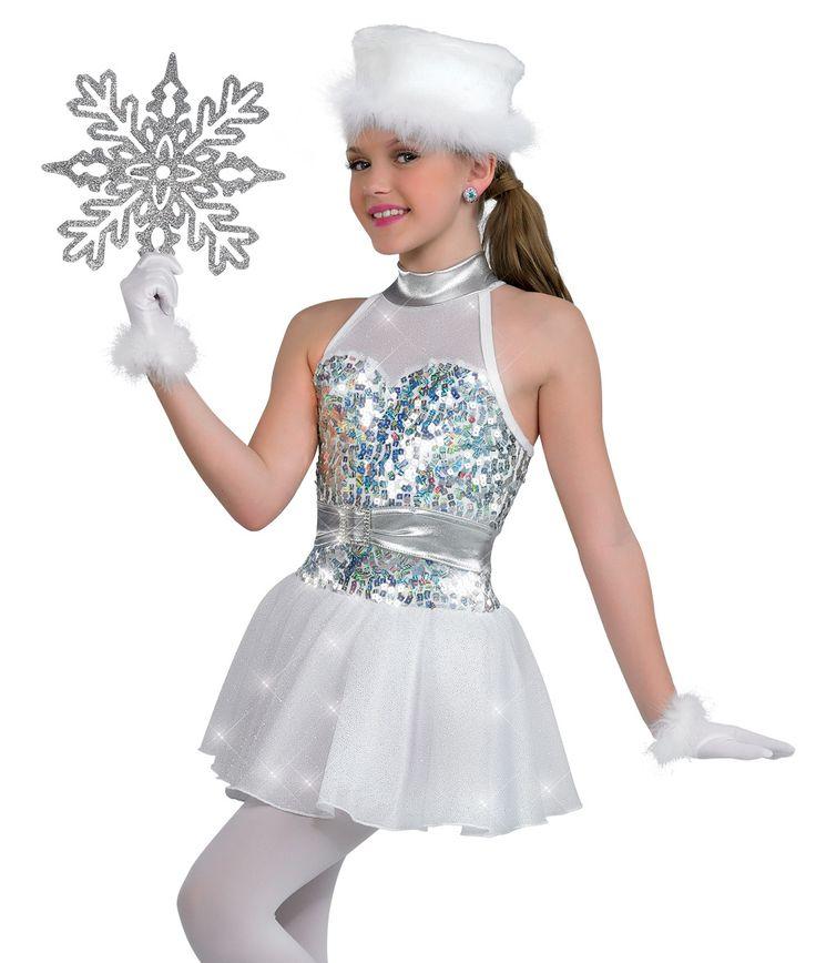Lyrical costumes dance costuums character dance snow christmas