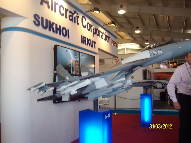 Su-35 Die cast model for demo
