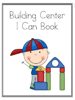 Kindergarten Lifestyle: Blocks/Building Center FREEBIE.  Links to something totally different :( Keep the pin so can make own later.