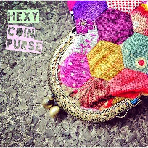 Hexy coin purse tutorial | Sewn Up by TeresaDownUnder