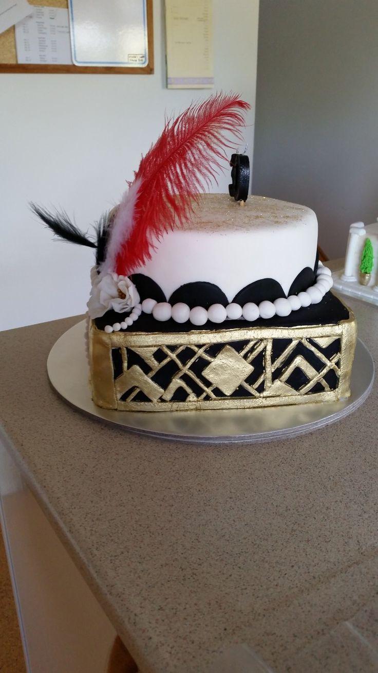Gatsby themed cake