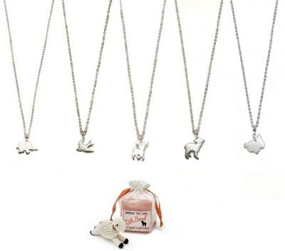 Little Lamb - NECKLACE with SINGLE CHARM