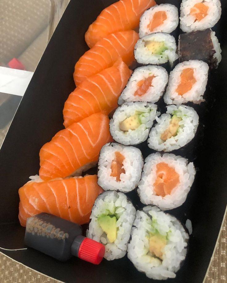 Tumblr in 2020 Salmon sushi, Food, Healthy recipes