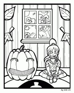Free Coloring Page Halloween PagesFree PagesBig Kids PumpkinsPumpkinSquashes