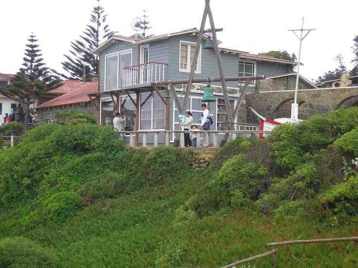 Isla Negra, la casa de Neruda en Chile.