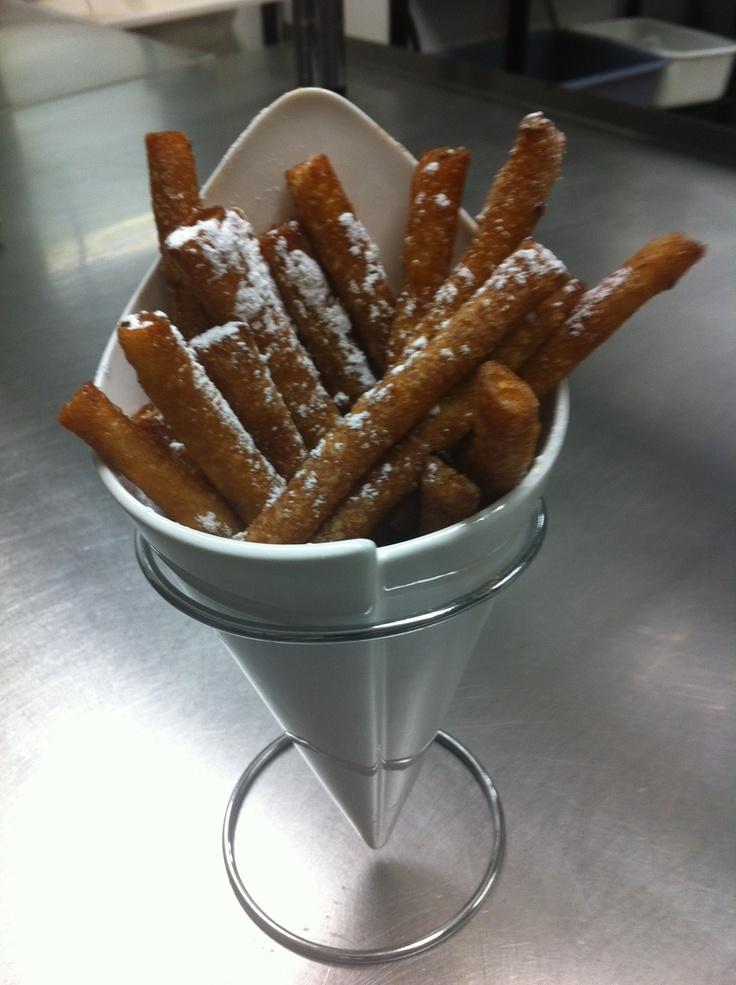 Funnel Fries. I eat these too often. So good