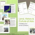 $14.80 In this 78+ page Walking Tour Activity and Interactive Lecture on the continent of Asia, your students will be introduced to the regions physical a...