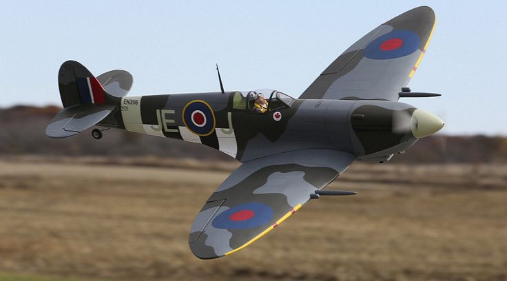 Hangar 9 Spitfire Mk IXc 30cc ARF (HAN4495) | Horizon Hobby - Radio Control R/C Planes, RC Airplanes, RC Helis and Helicopters, RC Cars, RC Trucks, RC Truggys, RC Boats, RC Radios, RC Engines, parts, hop-ups, and accessories