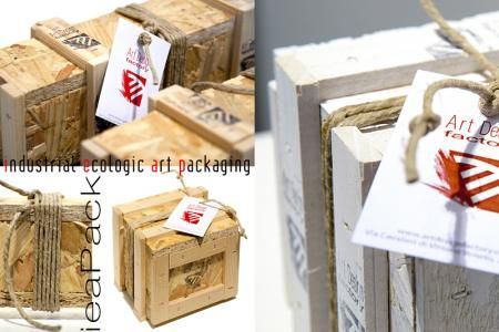 Art Design Factory - Product - IeaPack - ecologic packaging