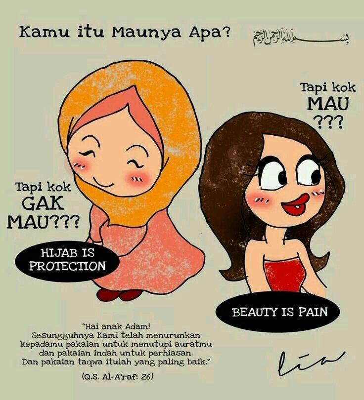 Kamu itu maunya apa #hijab