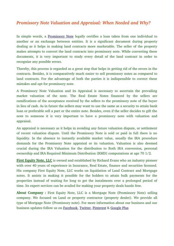 25+ parasta ideaa Pinterestissä Promissory note - business promissory note template