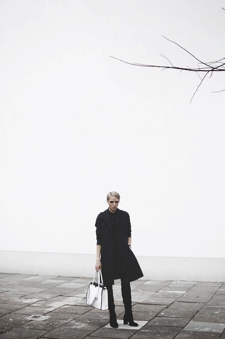 #Płaszcz damski #topsecret w stylizacji od #rebellook
