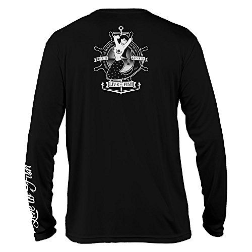 Prime Performance for Fishing & More Show off your love for fishing while protecting your skin with this long sleeve UV shirt! Aside from its stylish designs and logos, this shirt offers premium protection against harmful UV sun rays. Say goodbye to harsh shoulder and back sunburns caused by...