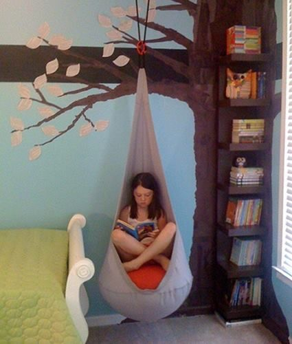 Rincón de lectura para peques