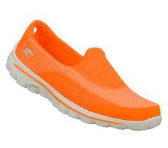 chaussure Skechers oranges #SKECHERSThanksPinToWin
